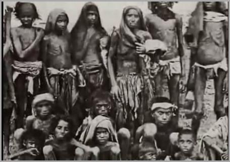 famlias inteiras morreram de fome