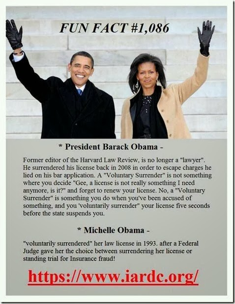 Obama Law License