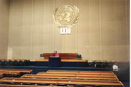Ce vizitam la 20 ani: In Sala Adunarii Generale ONU din Geneva
