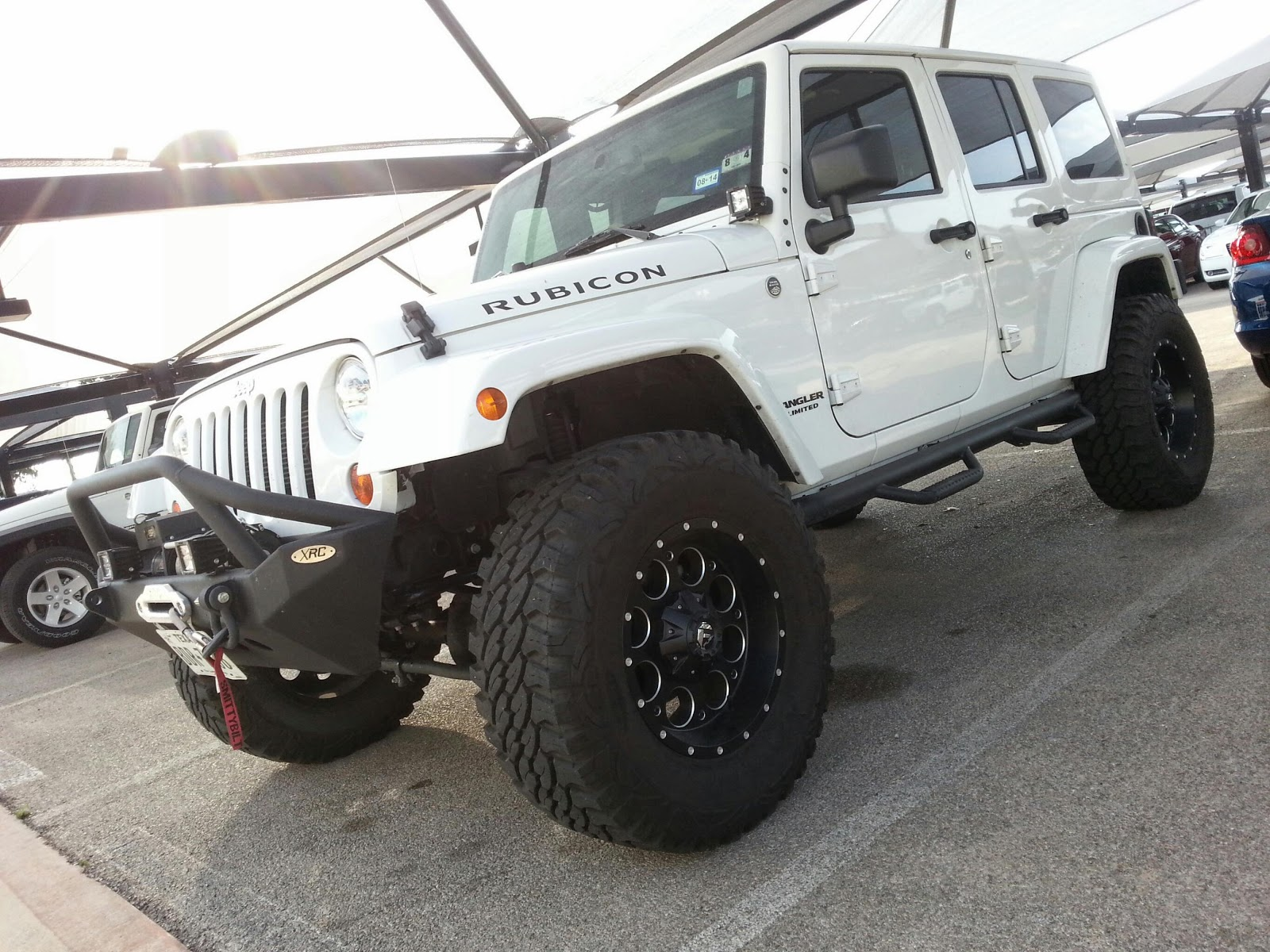 Mud Ready Tricked Out 2013 JEEP Wrangler Rubicon Just Traded For. If  Interested Call Me For More Details 817 243 9840 TDY Sales
