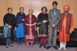 Sunit Kaur, Mrs Paramjit Kaur, Mrs Gursharan Kaur, Jaspreet, Jansher and Roopinder