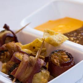 Pig Toes by Mya Dee - Food & Drink Meats & Cheeses ( fried foods, food, texas, bacon, fair )