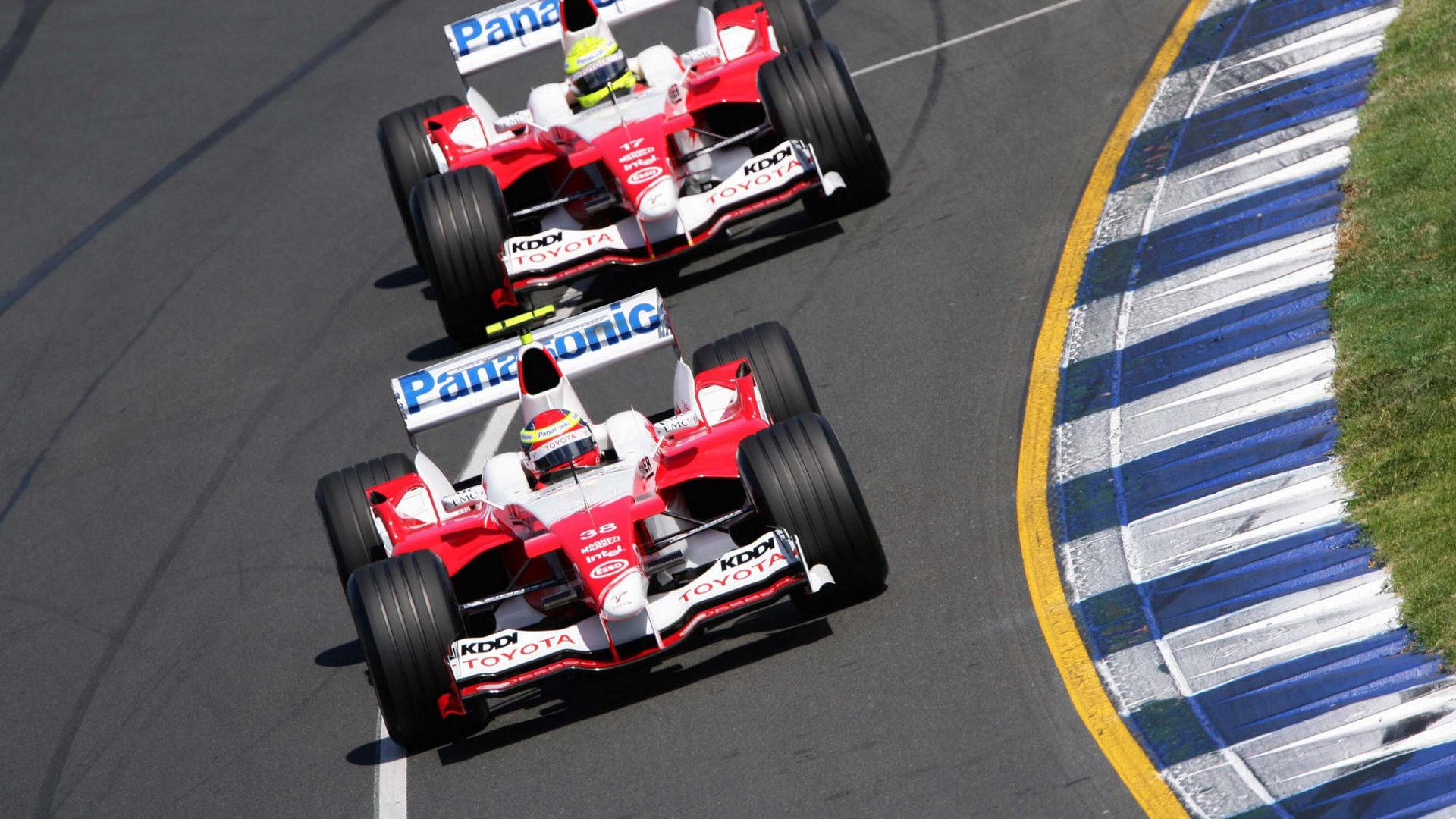 Toyota F1, equipe histórica de Formula 1 de 2005 - by f1-fansite.com