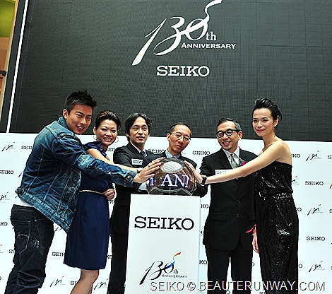 SEIKO 130th ANNIVERSARY SINGAPORE EXHIBITION AT VIVO CITY