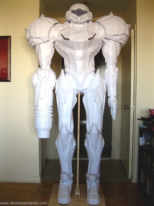 armadura metroid samus papercraft papel desbaratinando  (13)