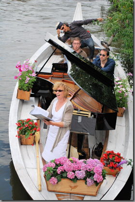 Grand piano on river 4