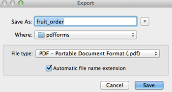 15 Export PDF Filename