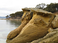 Sandstone rock formations Photo