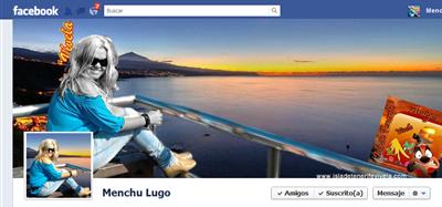 Facebook Menchu Lugo captura