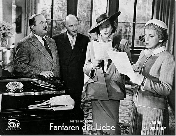 Dieter-Borsche,-Georg-Thomalla---Fanfare-der-Liebe-(Fanfares-of-Love)---film-West-Germany---1951