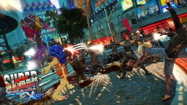 Dead Rising 3 Arcade Remix Capcom Arcade Cabinets Locations Guide 01