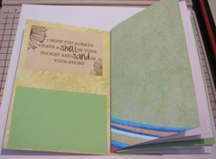 pamphlet book 3 hole lime green inside cover