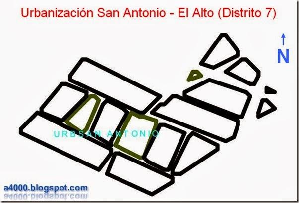 Barrios de la ciudad de El Alto