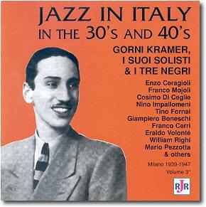 Gorni Kramer copertina cd Anni 30 e 40