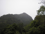 Lookin up at Gunung Pesawaran from Dusun Wherda (Daniel Quinn, October 2011)