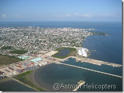 Belize City port