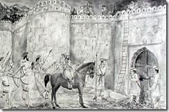 shivaji-examining-his-forts
