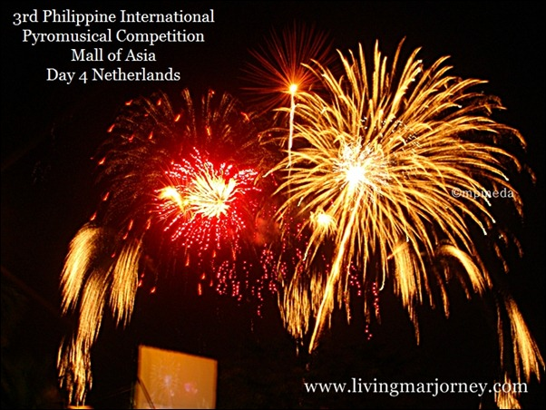 China vs. Netherlands| 3rd Philippine International Pyromusical Competition