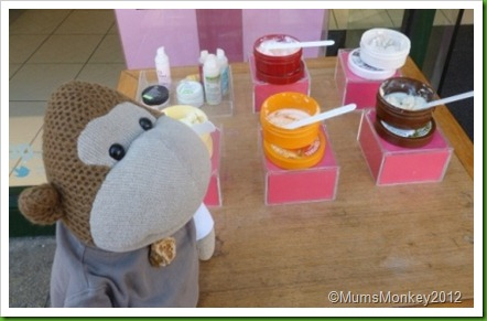 Body Shop samples