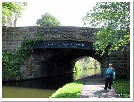 Bridge 101 Lancaster canal.