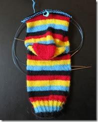 Angry Birds - Sock 2- Heel Turn