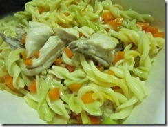 the best chicken noodle soup I've ever made, 240baon