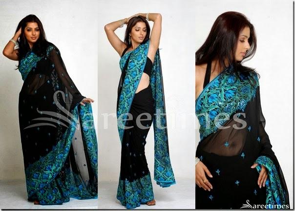 Bhumika_Black_Sari