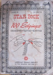 vintage tatting book