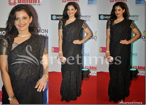 Black_Embellished_Saree