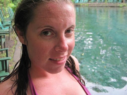 Ojo de Agua fresh water springs, Ometepe, Nicaragua