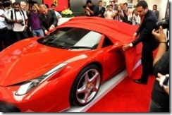Ferrari launches in india