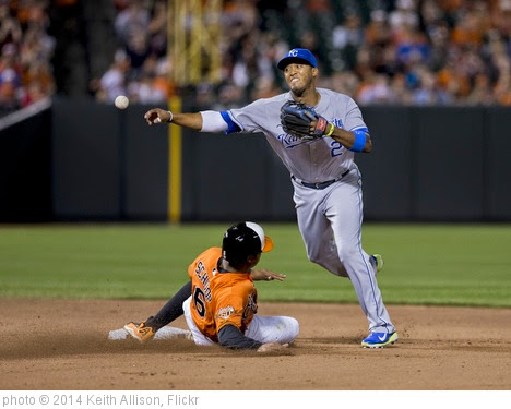 'Alcides Escobar' photo (c) 2014, Keith Allison - license: https://creativecommons.org/licenses/by-sa/2.0/