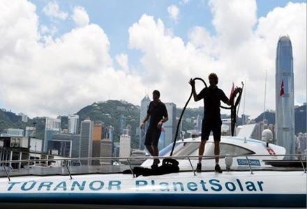 barco-solar-hong-kong-barco-con-energía-solar