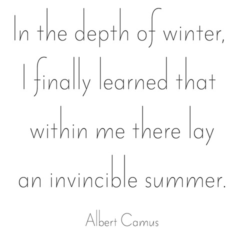 invincible summer -- camus