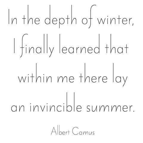 invincible summer -- camus