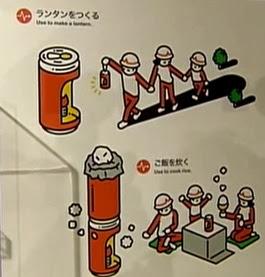 lanterna de refrigerante
