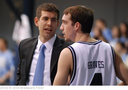 'Coach Stevens talks to AJ Graves.' photo (c) 2008, Bradjward - license: http://creativecommons.org/licenses/by/2.0/