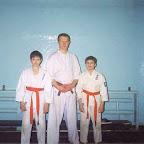 А. Егоров со своими учениками.