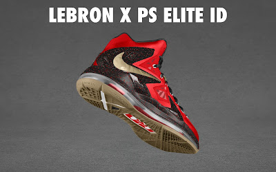 nike lebron 10 ps elite id options preview 1 13 NIKE LEBRON X PS ELITE Coming to Nike iD on April 23rd