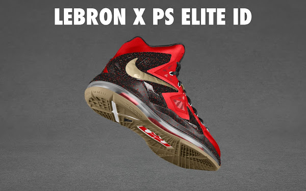 NIKE LEBRON X PS ELITE Coming to Nike iD on April 23rd