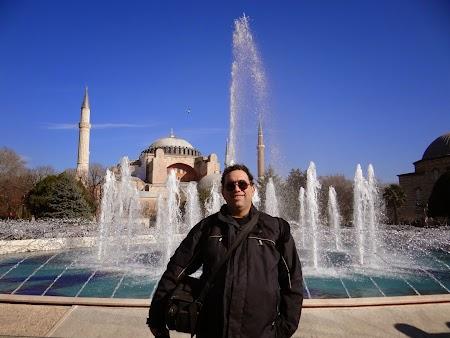 Obiective turistice Istanbul: Fantani in Sultanahmet