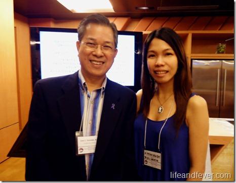 Dr. Jose Gonzales and Dr. Stef dela Cruz