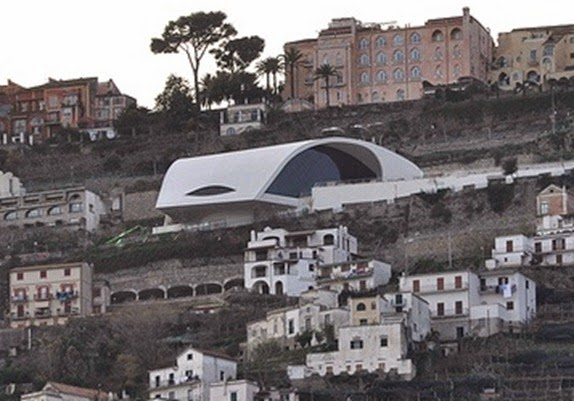Auditorium Oscar Niemeyer - Oscar Niemeyer, Ravello