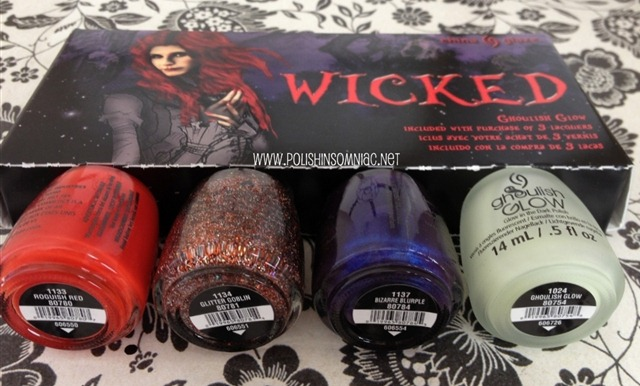 China Glaze WICKED 3