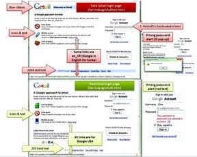 roubo de contas do Gmail (hijacking)