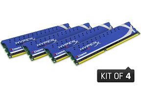 HyperX Genesis memory in 8GB, 16GB and 32GB