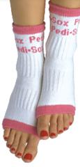 Pink Original Pedi-sox
