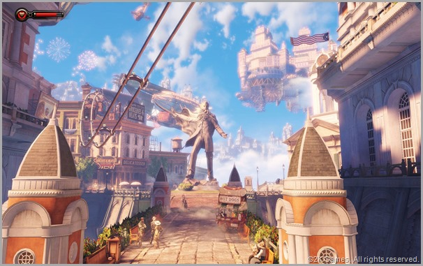 CLICK to visit the official BIOSHOCK INFINITE site.