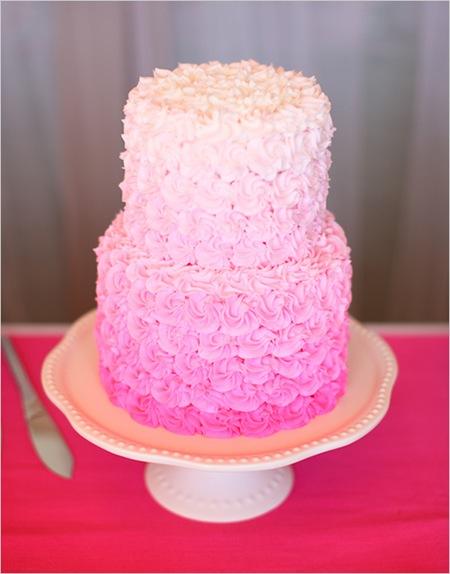 Semplicemente Perfetto ombreweddingcake