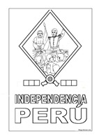 independencia peru colorear  (1)